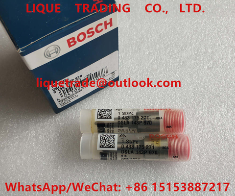 China BOSCH injector nozzle 0433175271 , DSLA143P970 , 0 433 175 271 ,  DSLA 143P 970 factory
