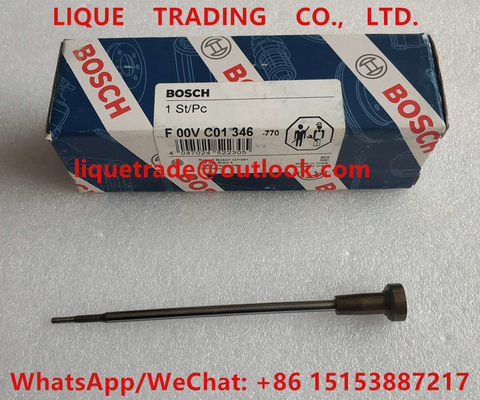 China BOSCH injector valve F00VC01346, F 00V C01 346 for 0445110253, 0445110254, 0445110257, 0445110269, 0445110270 distributor